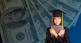 إلغاء 50000 دولار من ديون القروض الطلابية